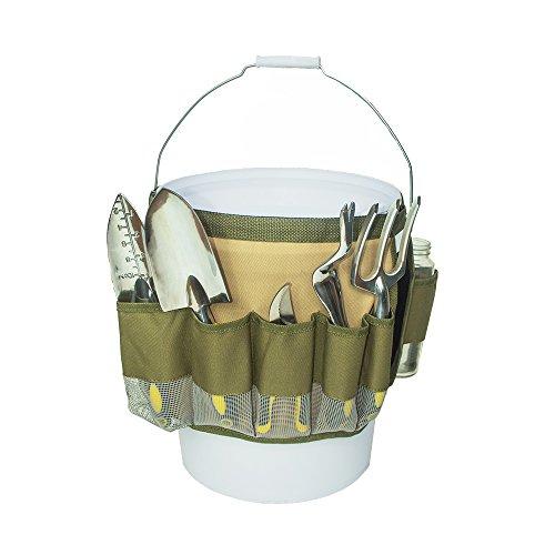 Hense Heavy Duty Oxford Mehrzweck-10Taschen Garten Werkzeug Tasche, Werkzeug Tasche für...