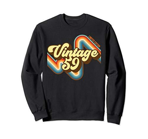 60. Geburtstag Vintage 59 limitierte Auflage geboren 1949 Sweatshirt