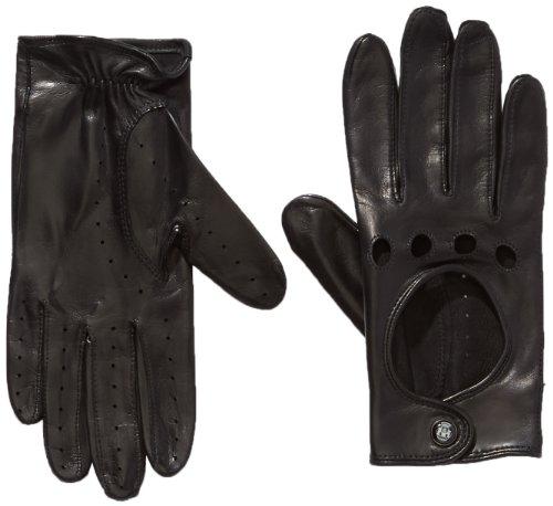 Roeckl Damen Handschuhe Young Driver, Einfarbig, Gr. 7.5, Schwarz (black 000)