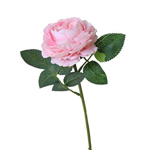 Künstliche Blumen, Unechte Deko Blumen Tischdeko Hochzeit 8 Pcs Rosen Fake Blumen Seidenblumen Blumenstrauß Küche Haushalt Garten Geburtstag Party Wohnaccessoires Deko