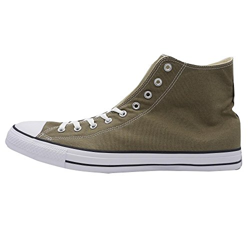 Converse Chuck Taylor All Star Hi Herren Sneaker Übergrößen Khaki, Größe:54