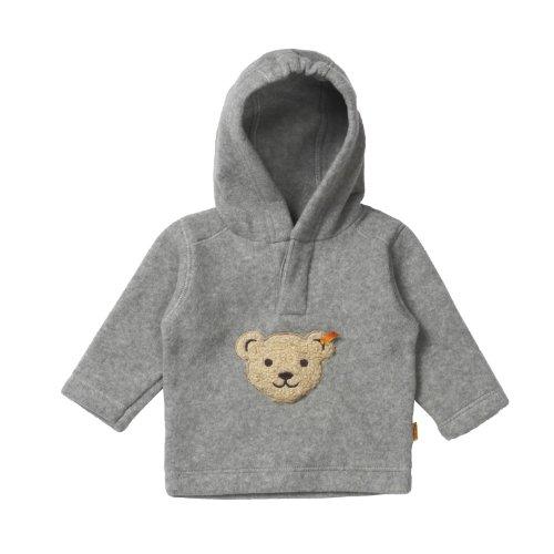 Steiff Unisex - Baby Sweatshirt 0006863, Gr. 80, Grau (softgrey 8200)