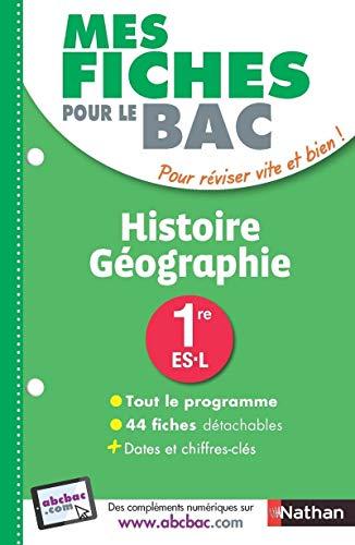 Mes fiches pour le BAC Histoire-Géographie 1re ES-L