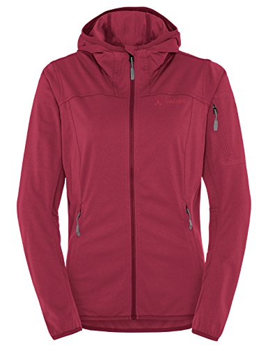 VAUDE Damen Women's Durance Hooded Jacket Jacke, Red Cluster, 42