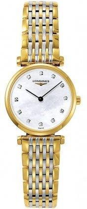 Longines La Grande Classique con madreperla, a due tonalità, in acciaio, L42092877-Orologio da donna
