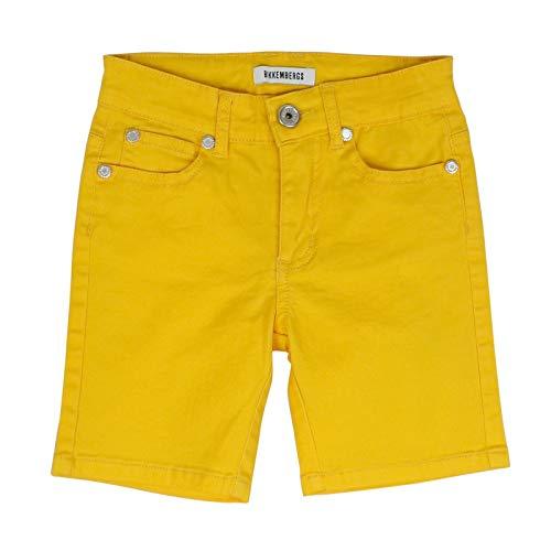 Pantalón corto amarillo para niño