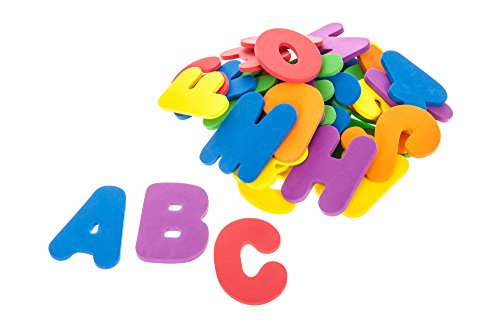 HILLINGTON ® 36pc Eva Foam Bath Letters Numbers Baby Activity Entertainment Bath Toy