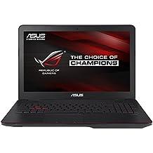 [Ancien modèle] Asus ROG G551JW-DM379T PC Portable Gamer 15,6 Noir métal (Intel Core i7, 8 Go de RAM, Disque dur 1 To + SSD 24 Go, Nvidia GeForce GTX960M, Windows 10)