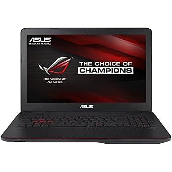 """[Ancien modèle] Asus ROG G551JW-DM379T PC Portable Gamer 15,6"""" Noir métal (Intel Core i7, 8 Go de RAM, Disque dur 1 To + SSD 24 Go, Nvidia GeForce GTX960M, Windows 10)"""