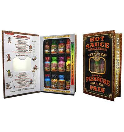 Ass Kickin Hot Sauce Challenge Book of Pleasure & Pain - 0.75-unzen-bar