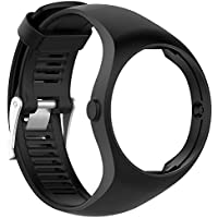 KOBWA Polar M200 Correa de Reloj, Correa de Silicona de Repuesto para Polar M200 Fitness Watch