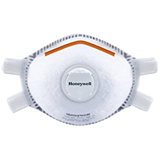 Honeywell 1005126 Premium 5321 Single-Use Adjustable Moulded Mask with Valve and Facial Seal FFP3V NR D - Size XL (Box of 5)