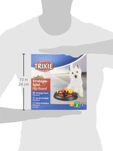 Trixie Dog Activity Flip Board Strategiespiel für Hunde, 23 cm - 8