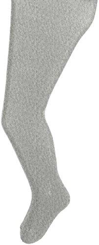 Sterntaler Baby-Mädchen Strumpfhose Uni, Grau (Silber Melange 542), 104 (Kleid Silber-grau)