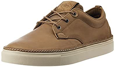O'Neill Men's Fakey Cup Tan Leather Sneakers - 10.5 UK