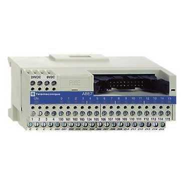 Schneider ABE7H16CM11 Passiver Klemmenblock ABE7, 8 Eingänge 8Ausgänge, LED