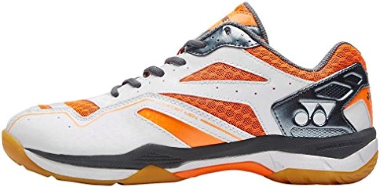 Nueva Yonex Power Cush Confort Deportes Badminton Calzado Naranja, Naranja, 44.5  -