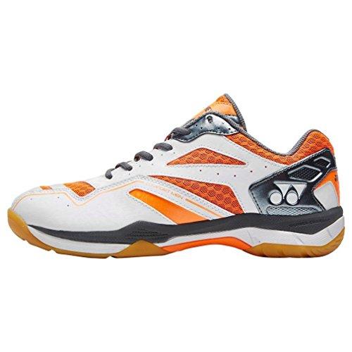 Yonex Neu Power Cush Comfort Sport Badmintonschuhe Orange, Orange, 42