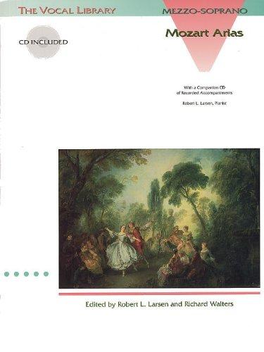 Preisvergleich Produktbild Mozart: Arias for Mezzo-Soprano. Für Mezzo-Sopran, Klavierbegleitung