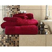 linensrange Miami vino 100% egipcio algodón absorbente toallas de mano, toallas de baño y