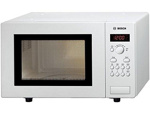 Bosch HMT75M421B Encimera 17L 800W Blanco - Microondas (Encimera, 17 L, 800...