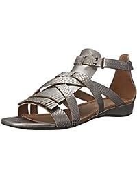 Ecco Footwear Womens Bouillon II Gladiator Dress Sandal Warm Grey 8-8.5 B(M) US