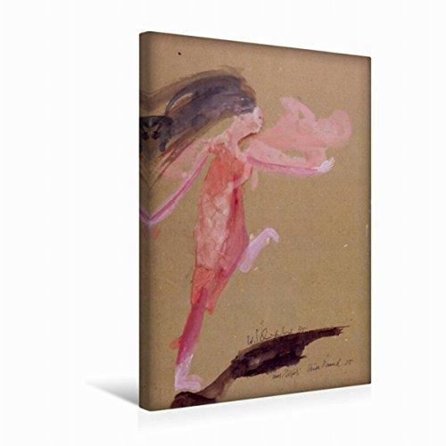 Premium Textile Toile de 30cm x 45cm de haut Nefes 2005danse Théâtre Pina Bausch Aquarelle, 30 x 45 cm por Hanna Schwingenheuer