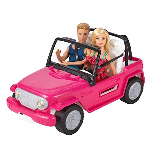 Barbie CJD12 Beach Cruiser, pink