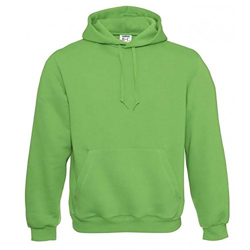 B&C Herren Kapuzenpullover / Hoodie / Kapuzensweater Real Green