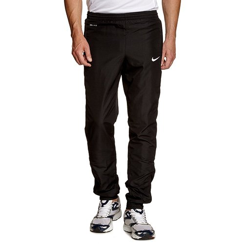 Nike Herren Hose Woven Pants Cuffed 588458-010, schwarz (Black/White), XXL (Running Trainingshose)