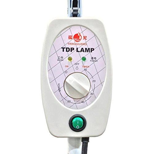 TDP-Lampe CQ-29 für TDP-Heat-Lampentherapie mit Infrarot-Mineral-Technologie für Maximun-Schmerzlinderung mit übergroßem Sicherheitskopf. Diese neue Fern-Infrarot-Mineral-Hitze-Lampe ist die neueste Version und Features Die neueste Technologie (Tdp-mineral-lampe)