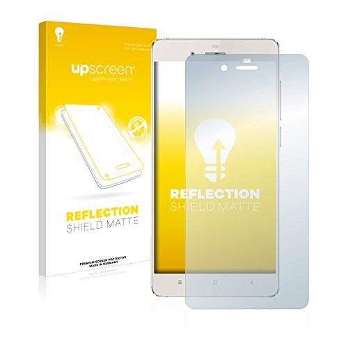 upscreen Entspiegelungs-Schutzfolie kompatibel mit Doogee Europa F3 - Anti-Reflex Bildschirmschutz-Folie Matt