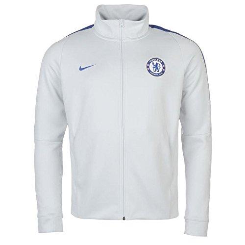 Nike Herren FC Chelsea Franchise Trainingsjacke Jacke, weiß, XXL-56/58