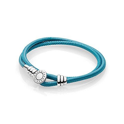 Pandora bracciali di corda donna argento - 597194ctq-d2