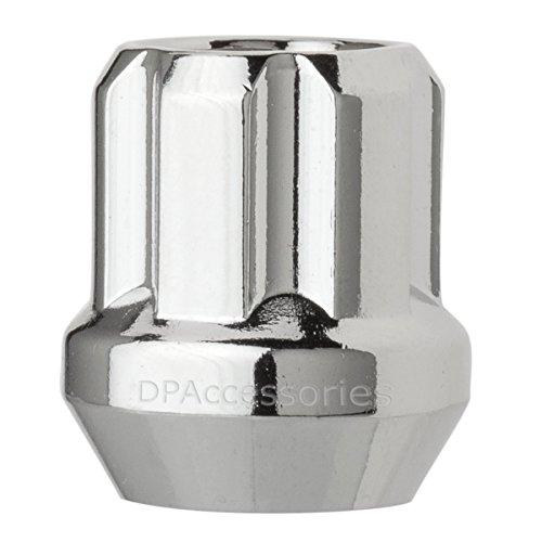 1 Lug Nut , Chrome : DPAccessories LOS2B3HC-CH04001 One (1) Chrome 9/16-18 Open End Duplex Spline Lug Nut for Aftermarket Wheels Wheel Lug Nut