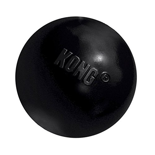 KONG-Extreme-Ball-Dog-Toy-Black