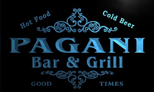 u33763-b-pagani-family-name-bar-grill-home-brew-beer-neon-sign-barlicht-neonlicht-lichtwerbung