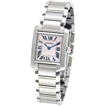 Cartier W51028Q3 - Reloj de pulsera mujer, color plateado