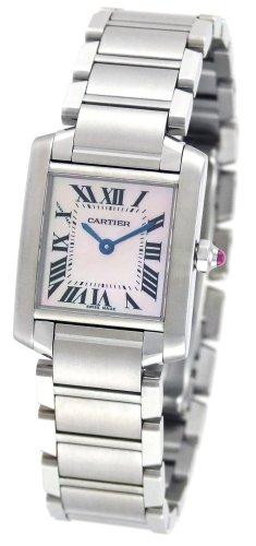 Cartier W51028Q3 - Reloj de pulsera mujer, color platead