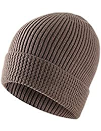 74265dae7d4 Amazon.co.uk  Brown - Knit Hats   Accessories  Clothing