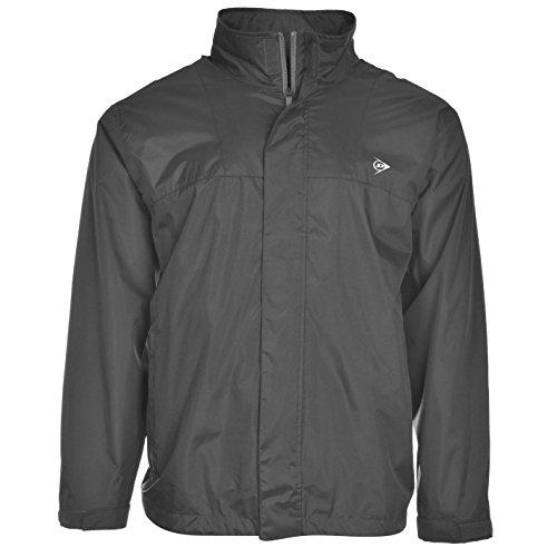ca8a0b7016e40b Dunlop Herren Wasserdicht Jacke Golf Sportjacke Outdoorjacke Windjacke Grau  Medium