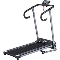 Outsunny homcom - Tapis roulant elettrico Attrezzo ginnico richiudibile Attrezzo per l'allenamento domestico schermo LCD 500 W