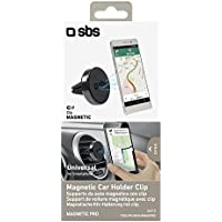 SBS tesuppunivairmagpro Car Mount – (Mobile Phone/Smartphone, Car, Passive Holder, Black, ABS synthetics, Metal, Magnetic Mount) preiswert