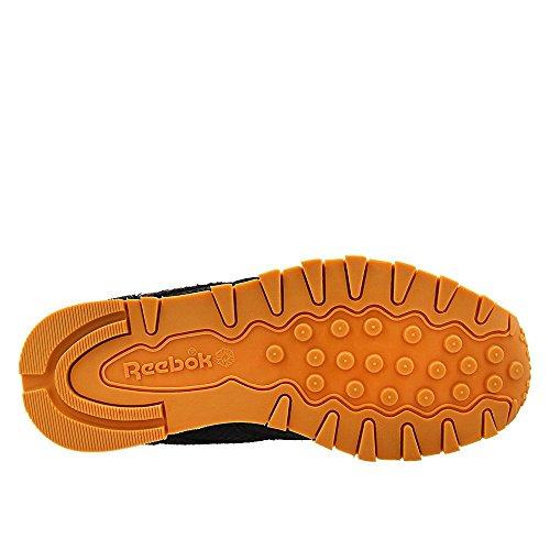 Reebok Classic Leather Clean Exotics Donna Sneaker Nero Nero