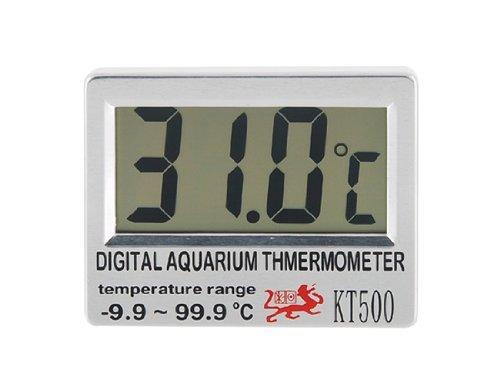 2.7 inch LCD Display Aquarium Digital Thermometer Fish Tank Wireless Sensor -9.9C - 99.9 Deg. C Temperature Meter