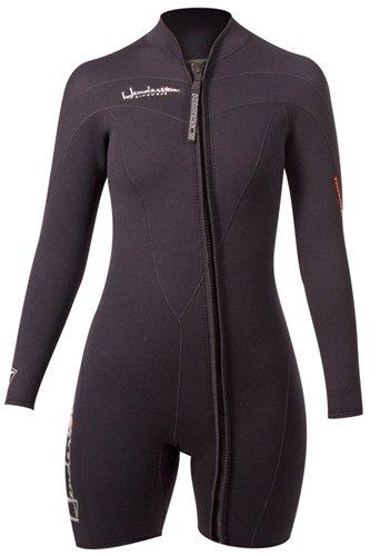 Henderson Woman Thermoprene Long Sleeve Shorty / Jacket (Front Zip) 3mm Scuba Wetsuit-8 -