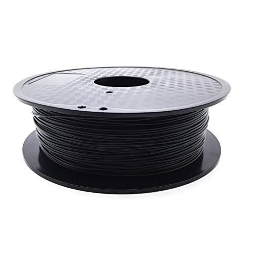 AptoFun Carbon Fiber Plus/ Kohlenstoff Plus Filament (1,75mm, 1kg, 300M,200°C - 220°C) mit Premium Qualität für 3D Drucker MakerBot RepRap MakerGear Ultimaker uvm/ auch für 3D-Stifte