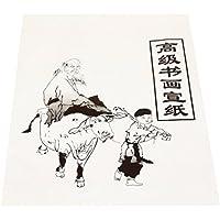 ROSENICE 30 Piezas Xuan Papel de Arroz para Práctica de Pintura China
