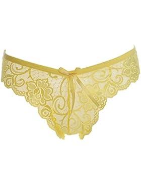 Señoras bragas, bragas de encaje de mujeres, mujeres de cintura bajo bragas tanga de encaje, mujer, 8 colores,...