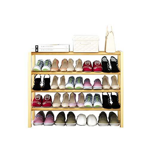 Armoire de Chaussure Multi-Fonctionnelle Peut être superposée en Bois Massif Rack de Chaussures dortoir économie Rack de ménage,65cm